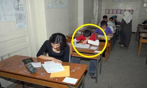 اختبارات مادة اللغة العربية الفصل الأول للسنة الرابعة متوسط مع الحلول