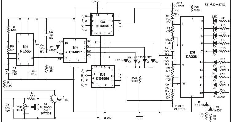 stereo channel selector