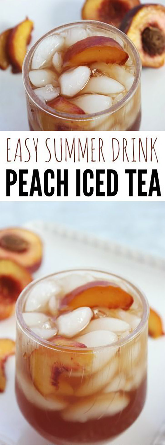 Delicious Peach Iced Tea Recipe