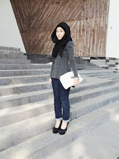 Gaya Hijab Casual Simple