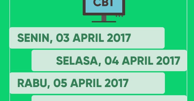 Jadwal Ujian Nasional Un Smk Mak 2018 Pelajar Indonesia