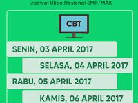 JADWAL UJIAN NASIONAL (UN) SMK/MAK 2018