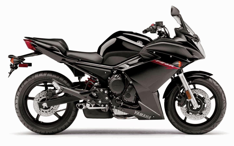 Yamaha fz6r Black