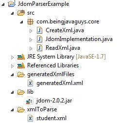 Java DOM Parser - Create XML Document