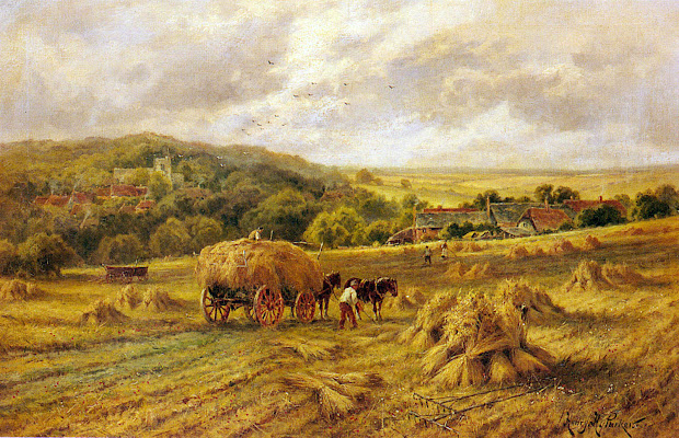 Victorian British Painting Henry Hillier Parker