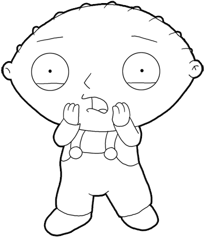 Coloring Pages Online: Family Guy Coloring Pages