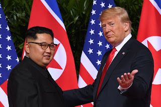Kim Jung Un and Donald Trump
