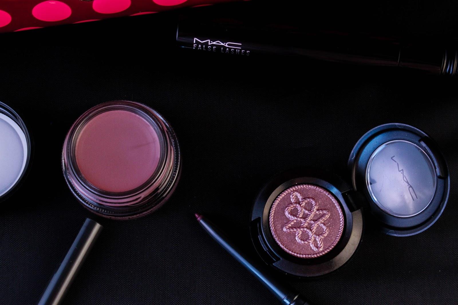 MAC nutcracker sweet plum eye bag christmas 2016 noel paint pot eyeshadow technakhol mascara purple