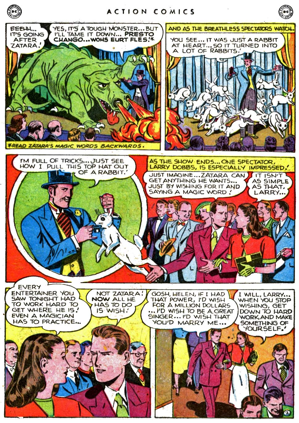 Read online Action Comics (1938) comic -  Issue #123 - 25