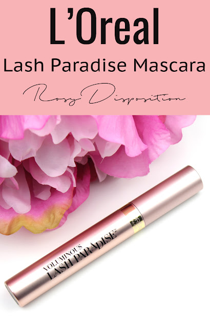 L'Oreal Lash Paradise Mascara Review Photos Swatches Before and After