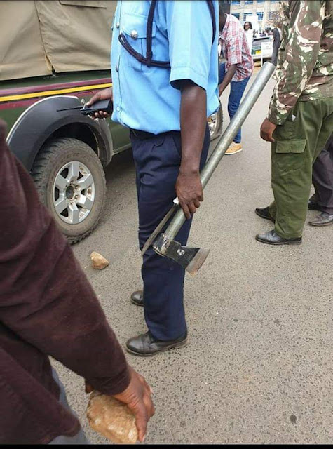 How Grossly Incompetent Police Handled Moi University Murder Weapon