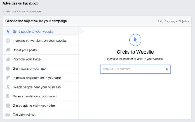 cara beriklan melalui facebook 2