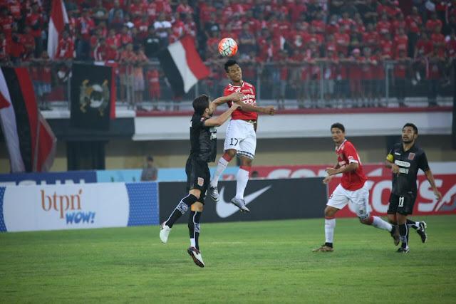 Pusamania Borneo FC tahan Bali United dikandang sendiri