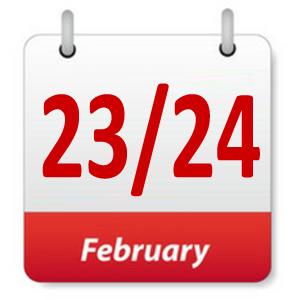 23 Februari 2019