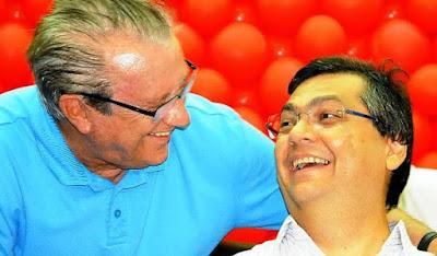 José Reinaldo ignora Flávio Dino e atende pedido de Jose Sarney ao votar no arquivamento da denúncia de Temer