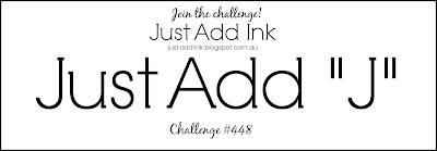 Jo's Stamping Spot - Just Add Ink Challenge #448