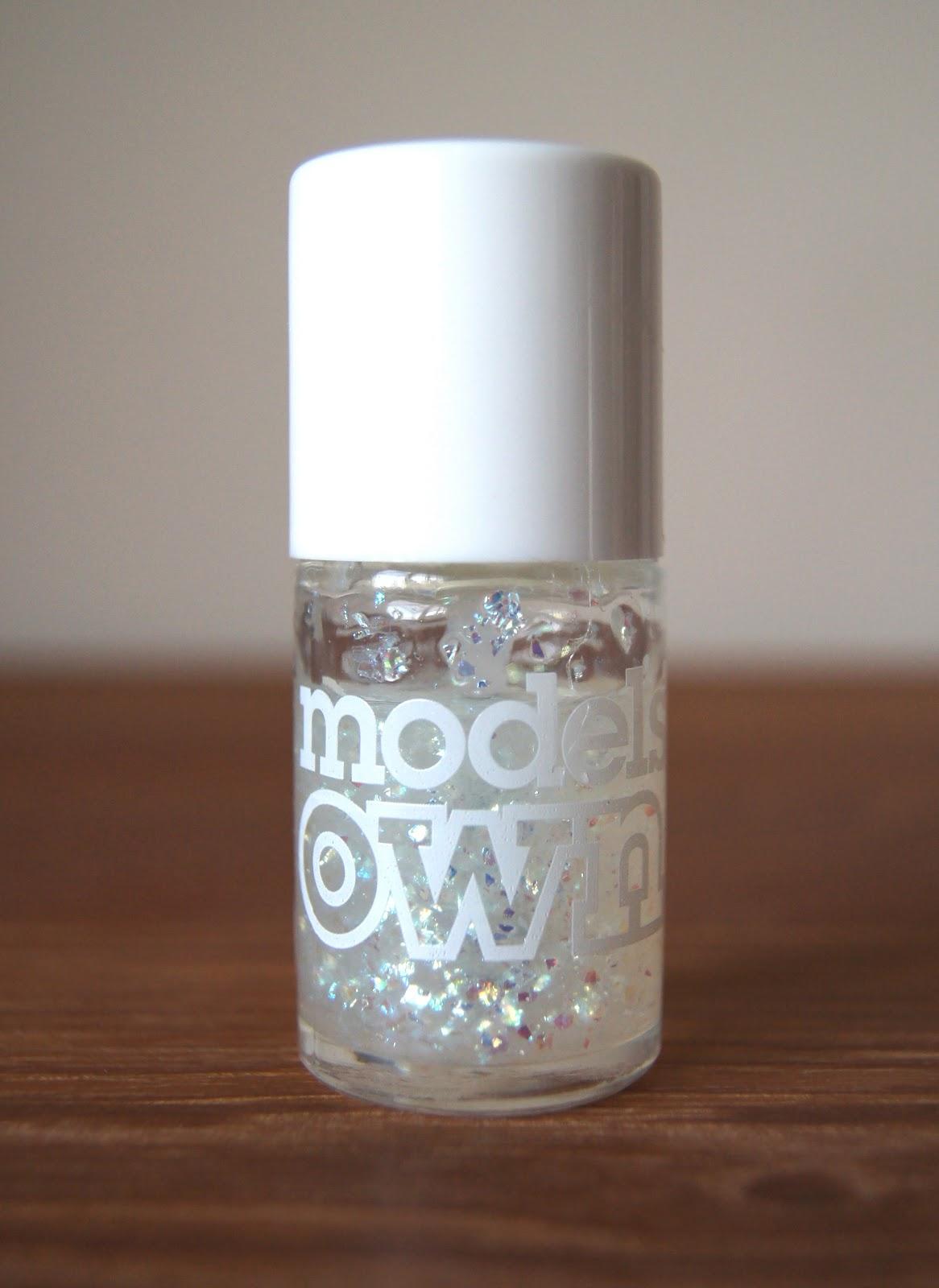 models own snowflakes nail polish review
