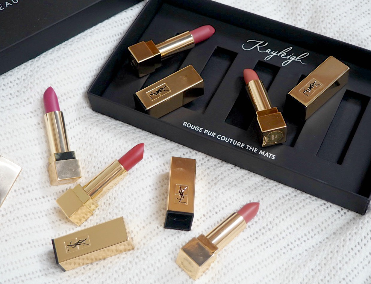 ysl rouge pur couture the mats lipsticks. Black Bedroom Furniture Sets. Home Design Ideas