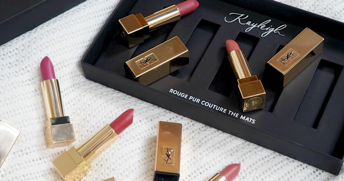 ysl rouge pur couture 39 the mats 39 lipsticks couture girl. Black Bedroom Furniture Sets. Home Design Ideas