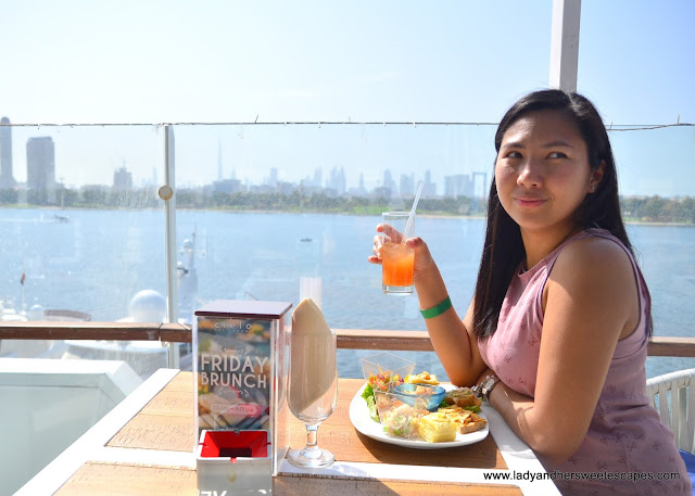 brunching with a view at Cielo Sky Lounge