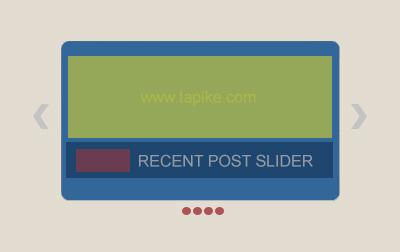 Cara Membuat Recent Post Slider Di Blog