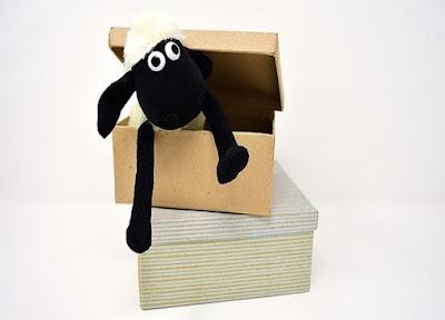 No tires las cajas de zapatos pueden servirte de almacenaje