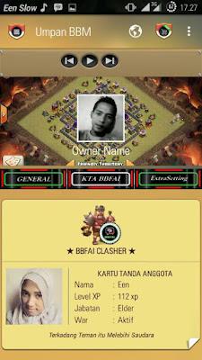 BBM MOD Clash of Clans v.2.12.09