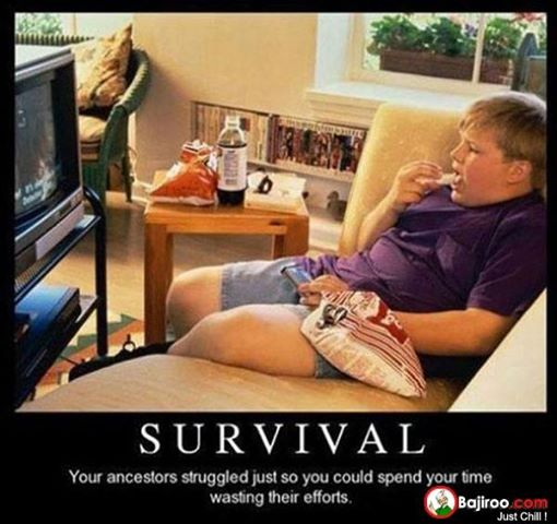 Survival Humor...but not