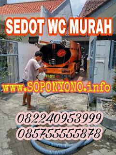 Promo Sedot WC Sidoarjo Murah