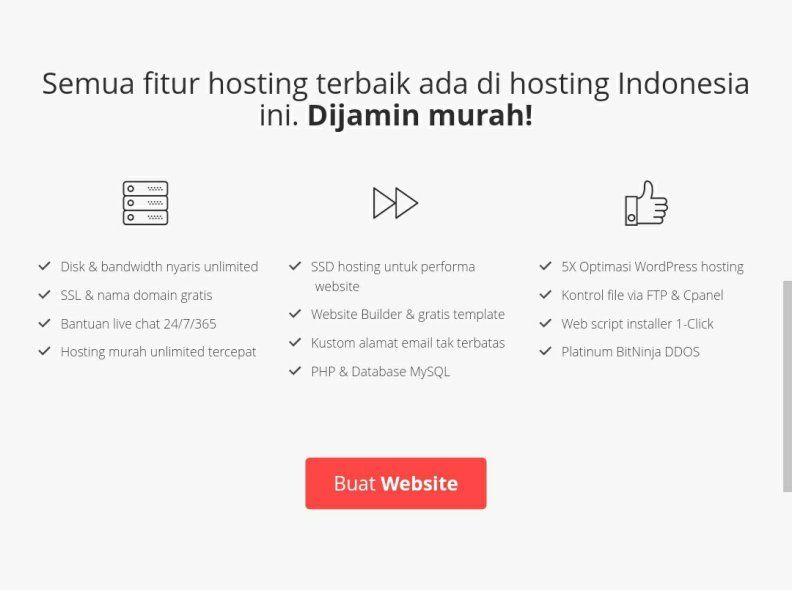Harga Web Hosting Murah Kualitas Premium
