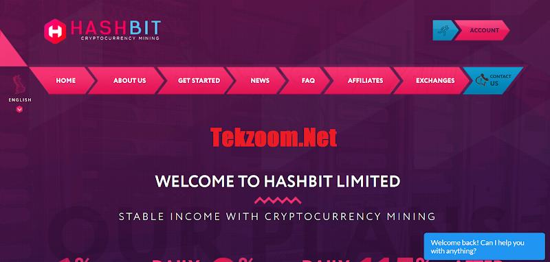 [SCAM] Review HashBit - Lãi 6% hằng ngày - Đầu tư tối thiểu 0.01 BTC - Thanh toán tức thì