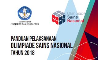 Update Tatacara Pelaksanaan Olimpiade Sains Nasional 2018