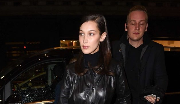Bella Hadid – Leaving her hotel in NYC