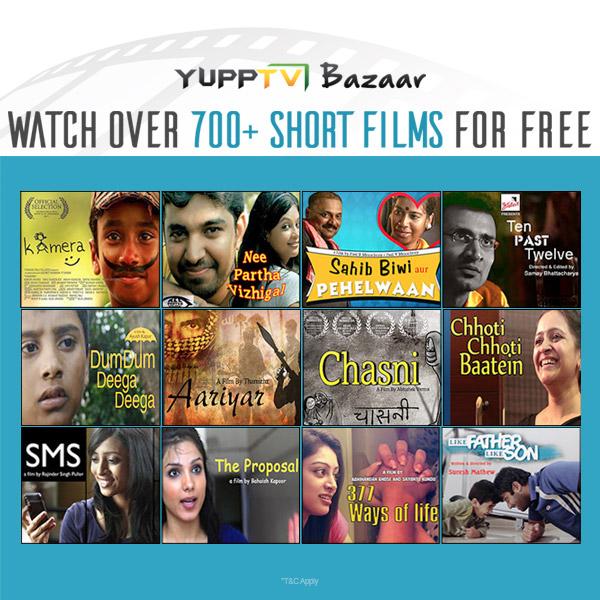 YuppTV Bazaar Short Films