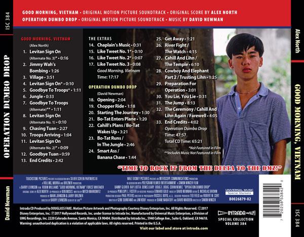 Good Morning Vietnam Palmerston North : Scoresdecine música de cine film music