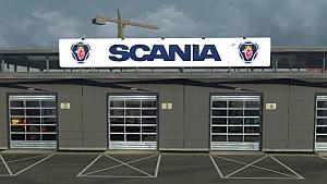 Scania Big Garage mod