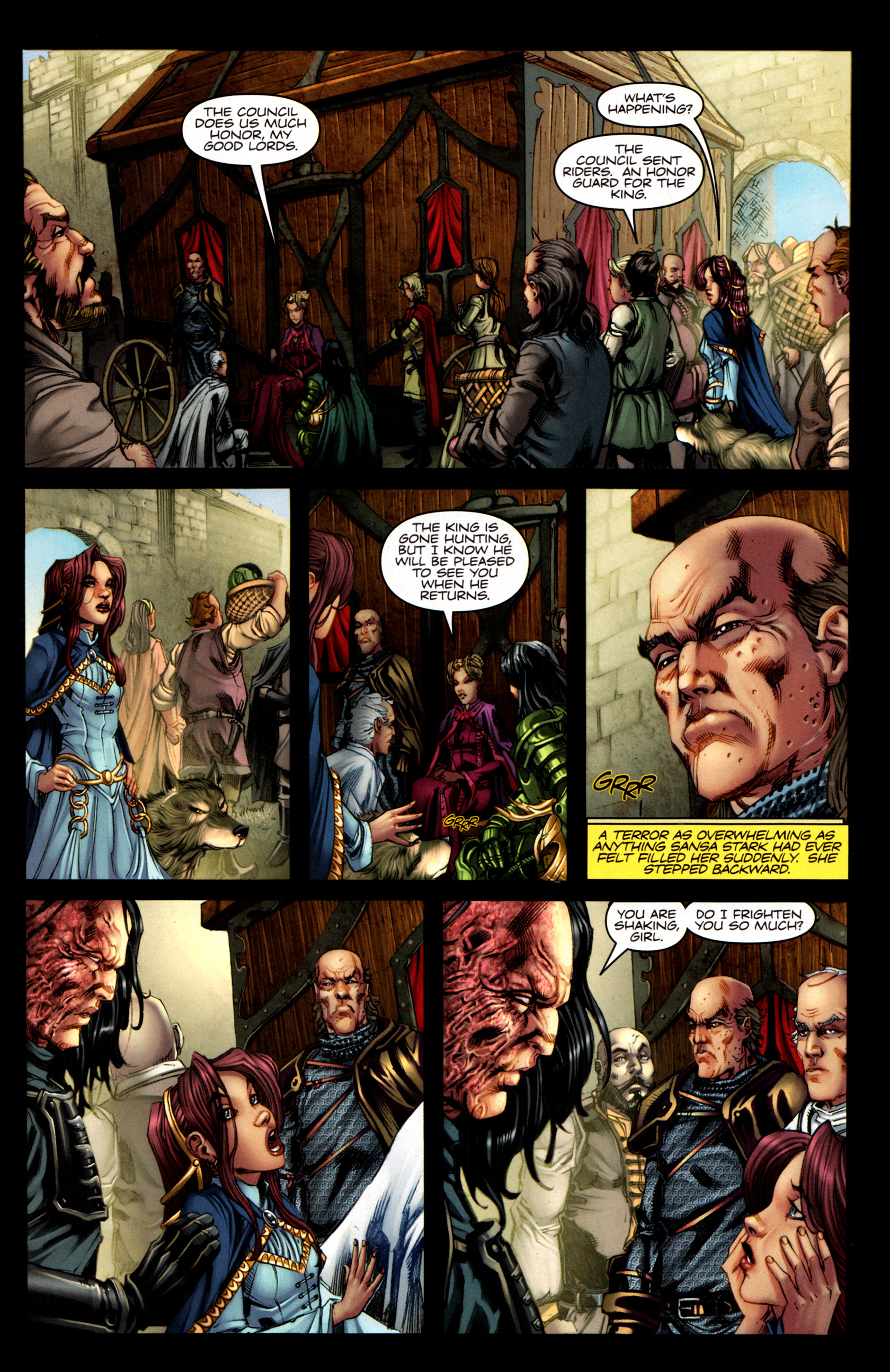 Read online A Game Of Thrones comic -  Issue #5 - 5