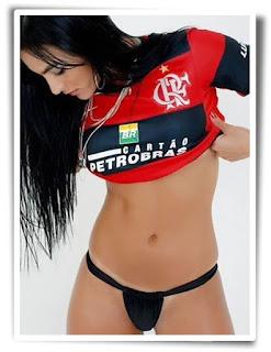 Retrato da torcida do Flamengo