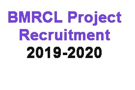 Recruitment of BMRCL 2019,railwayjobs