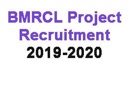 Recruitment of BMRCL 2019,railwayjobs