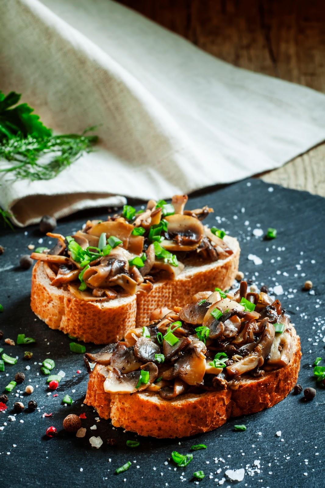 Wild Mushroom Bruschetta Recipe