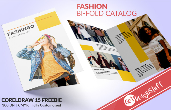 1991 Fashion Bi-Fold CorelDraw 15 Catalogue