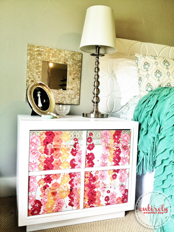 Used Bedroom Sets >> How to Decoupage with Wrapping Paper: Video Tutorial ...