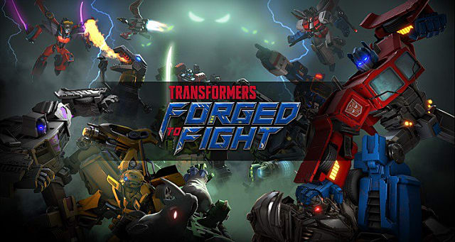 Game Nhập Vai Android Game Android Online Game Bắn Súng TRANSFORMERS Forged to Fight Mod Apk - Game Robot biến hình