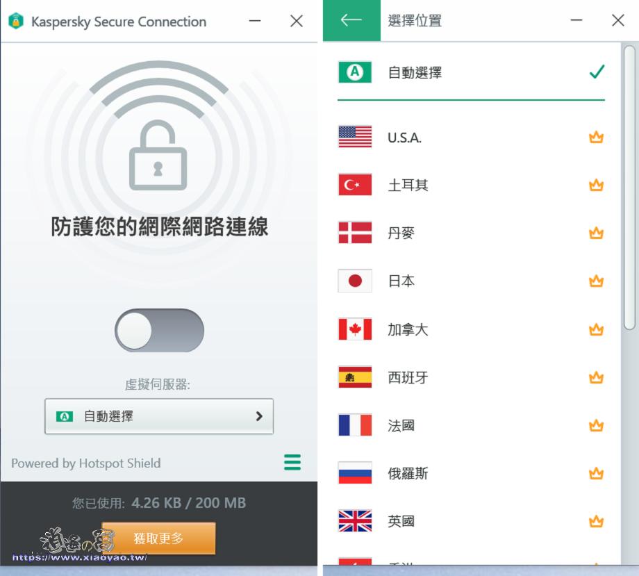 Kaspersky 卡巴斯基免費防毒軟體
