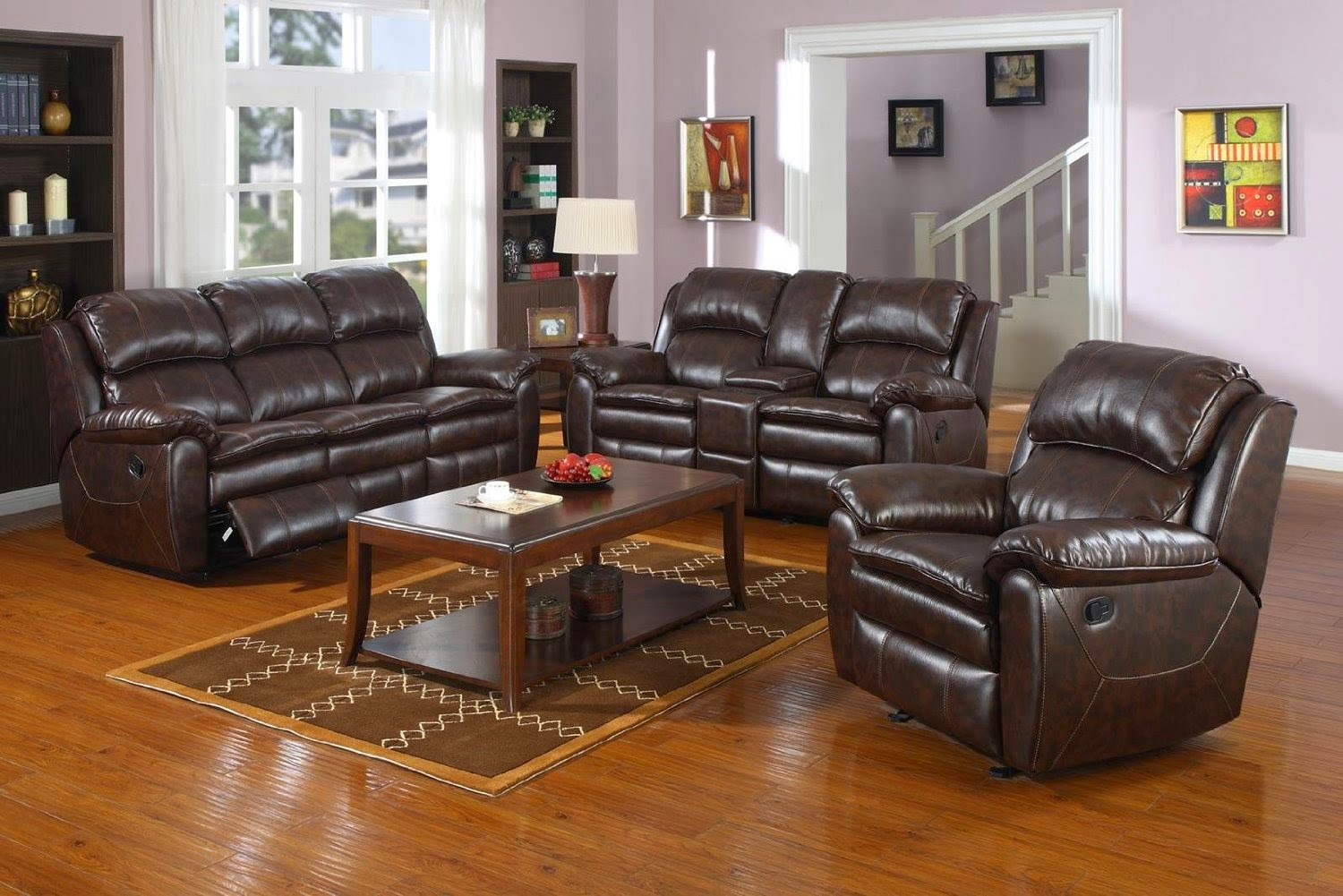 Reclining And Recliner Sofa Loveseat
