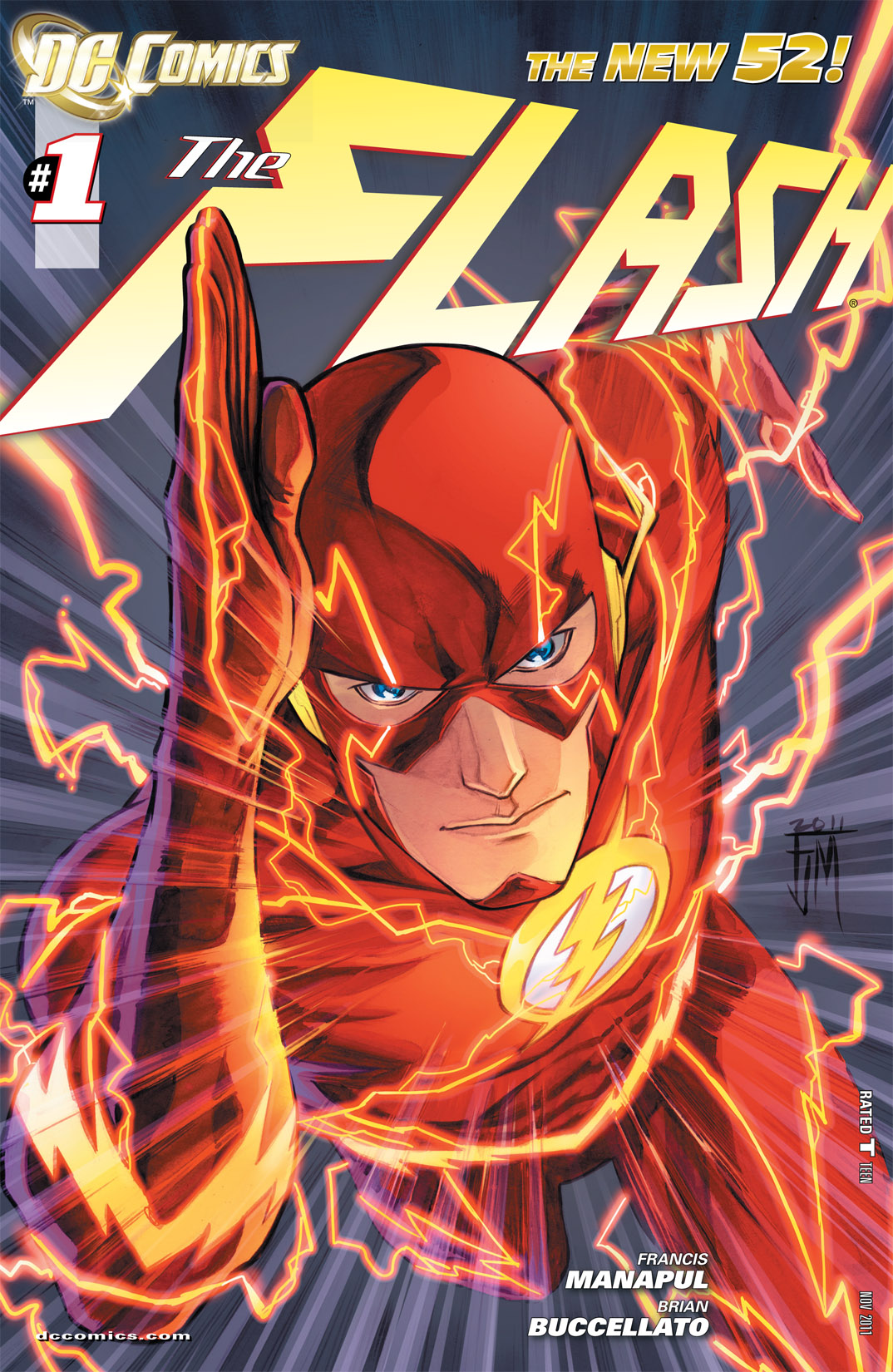 Read online The Flash (2011) comic -  Issue #1 - 1