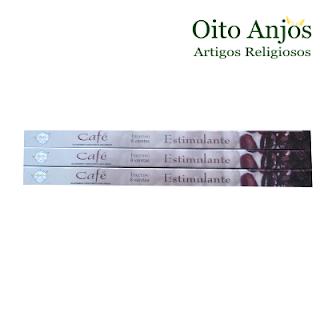 Incenso Café - Oito Anjos Artigos Religiosos Loja Esotérica Mairiporã