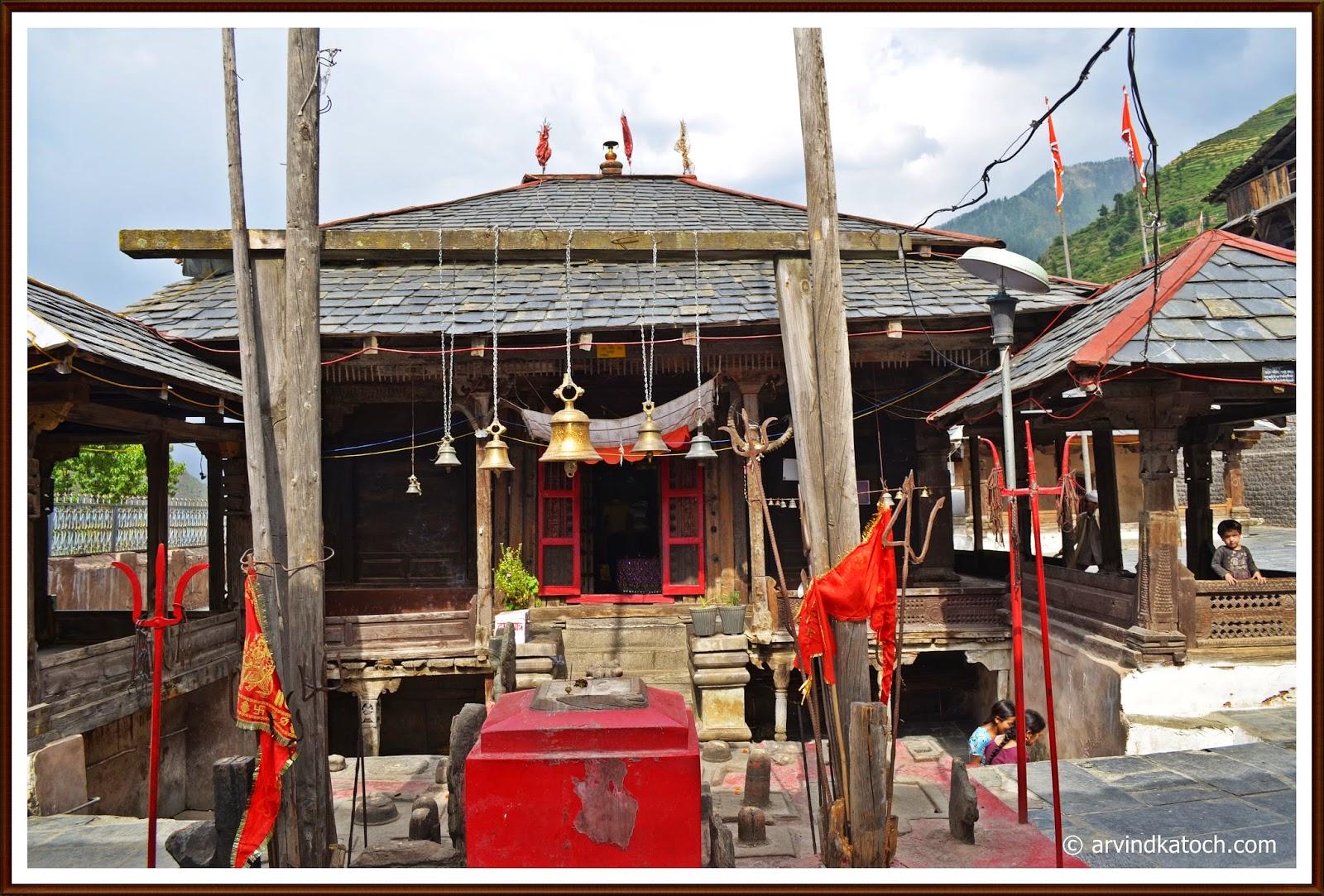 Chamba, Chhatrari, Shakti Devi, Temple