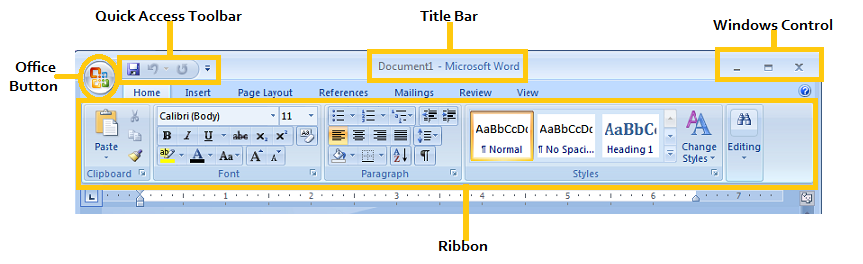 How to restore microsoft word